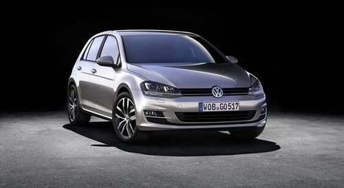 The new Volkswagen Golf Mk7 – lucky for thousands of drivers