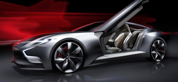 Hyundai goes for the luxury market by unveiling the HND-9 Concept