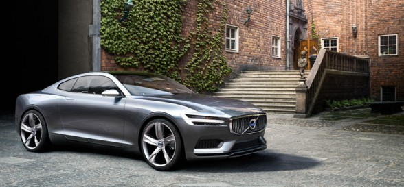 P1800 Concept Coupé Links Volvo's Past and Future