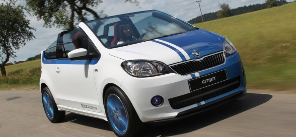 ŠKODA Surprises at Goodwood Festival of Speed with CitiJet Concept