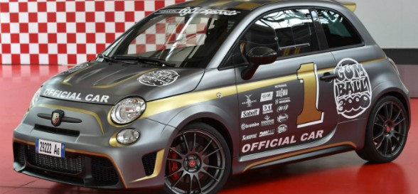 Abarth 695 Biposto makes its on-road debut