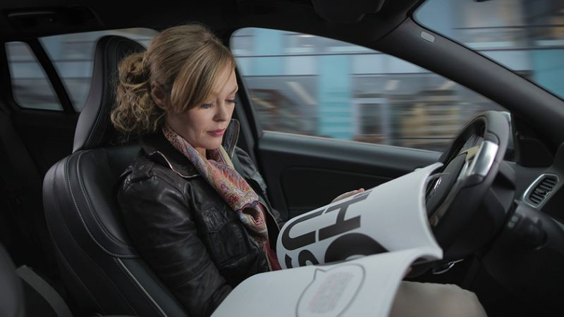 Volvo trials self-driving cars