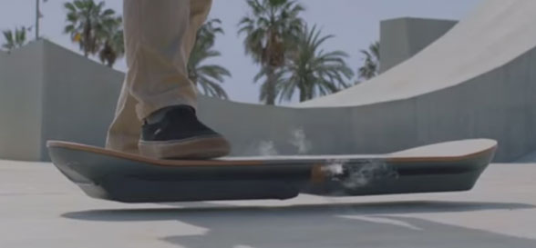 Lexus hoverboard prototype developed