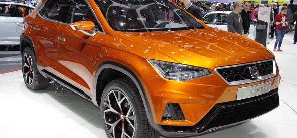 SEAT's first ever SUV, the Ateca, is revealed
