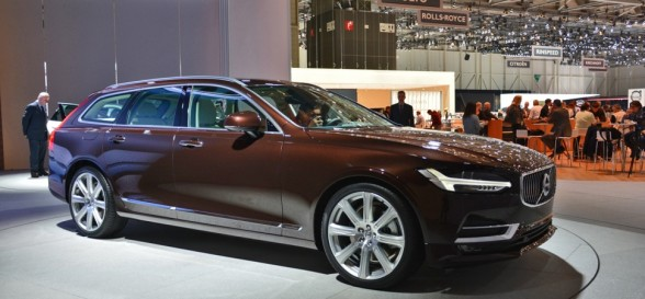 Taking a look at the new Volvo V90